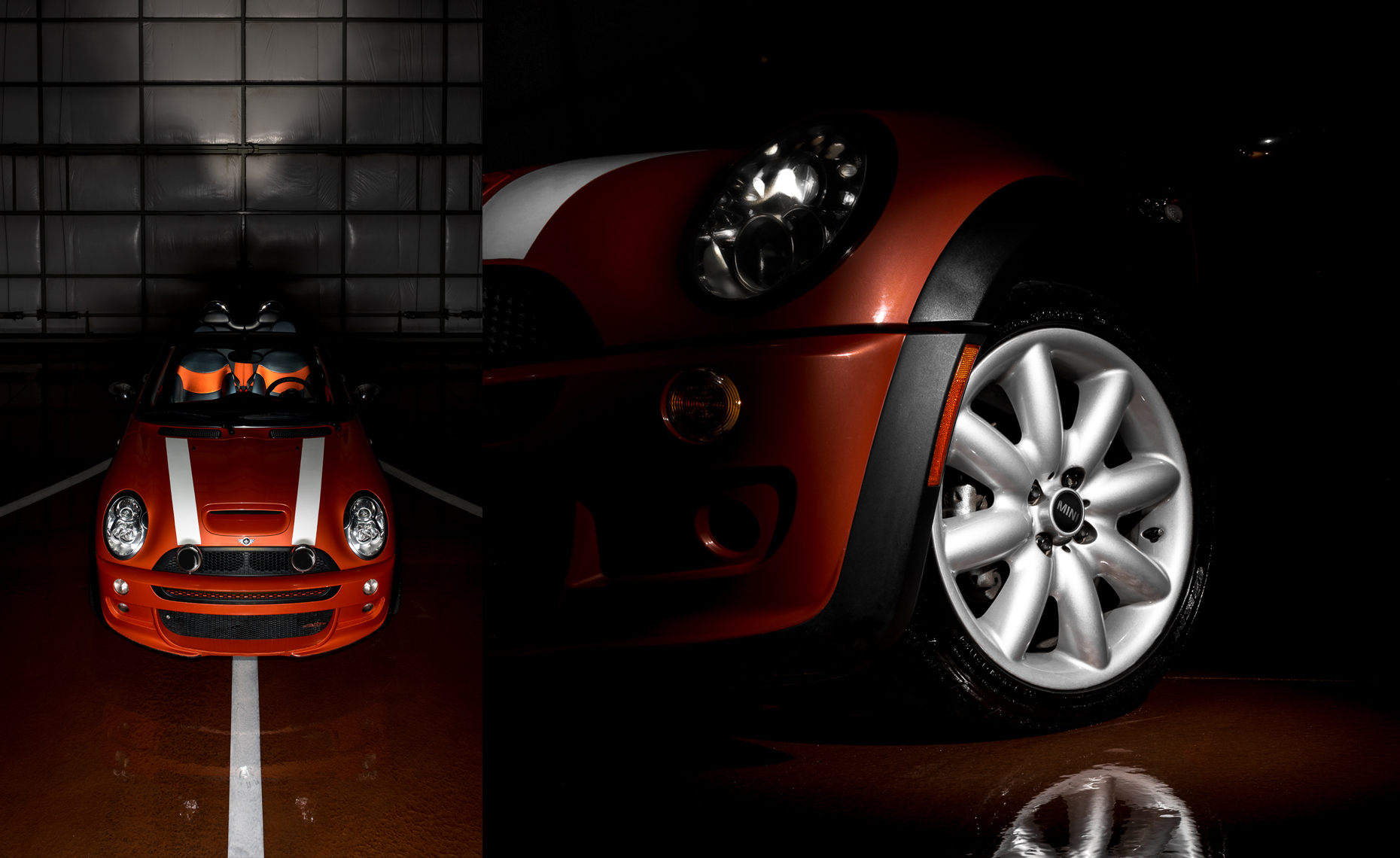 mini cooper bmw car automotive product Sun Peaks Photography
